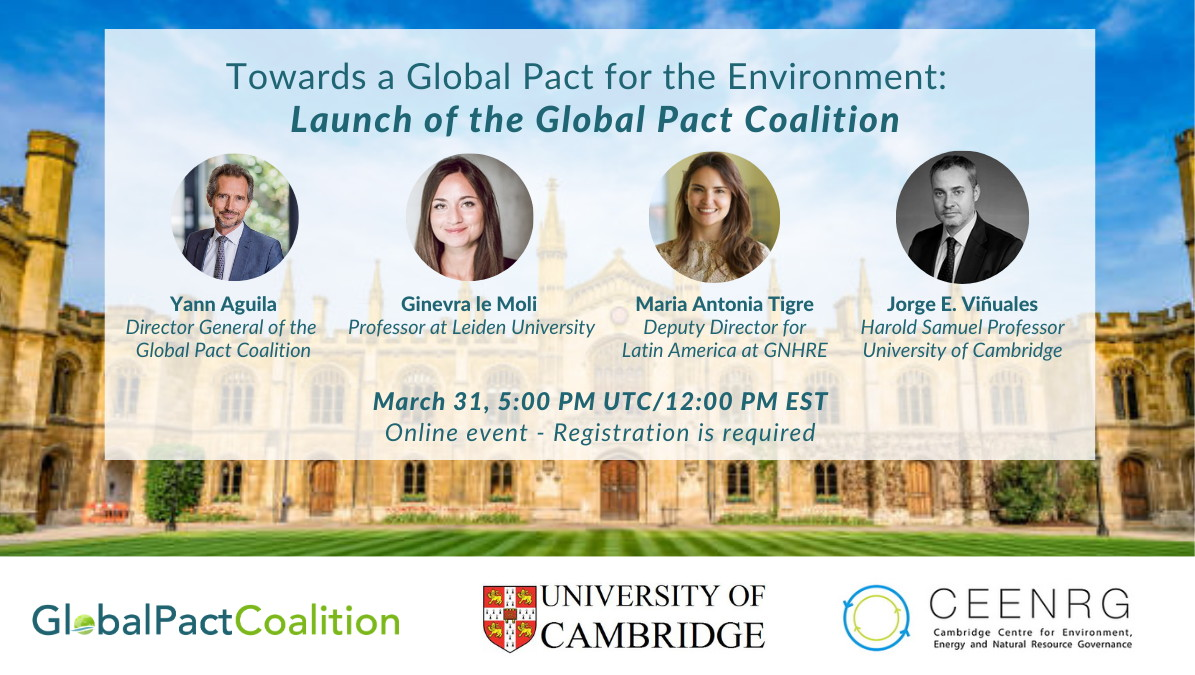 Global Pact Coalition - Cambridge Launch Conference